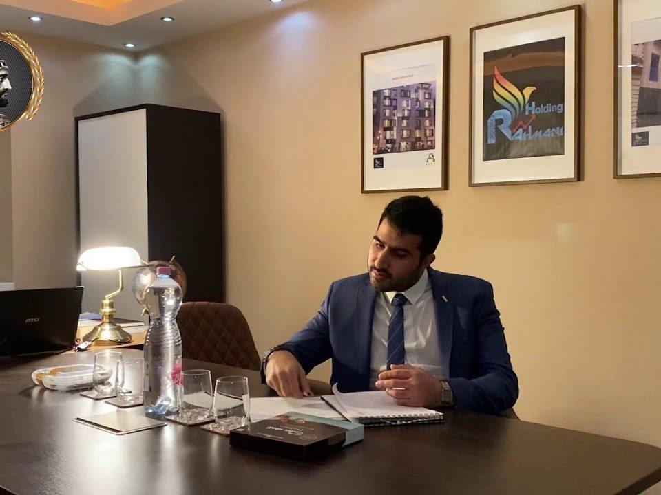 مصاحبه جناب آقای علی رحمانی با خبرگذاری اینترنشنال کورش